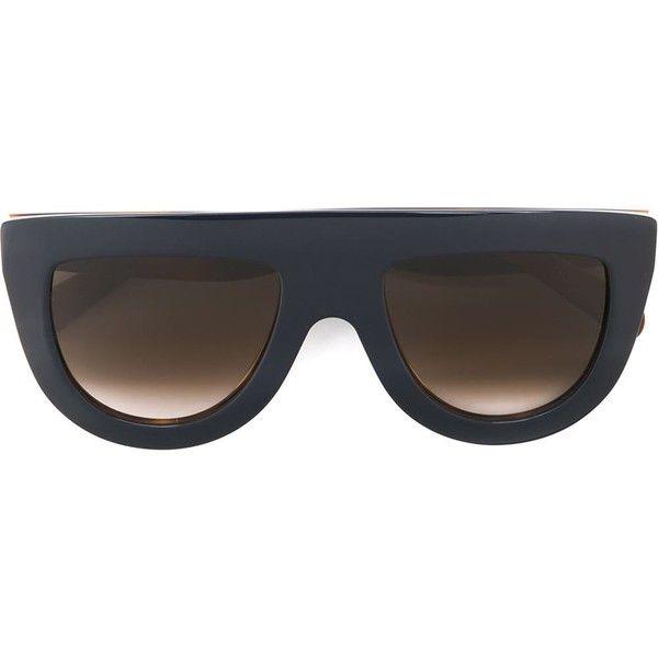 visor frame sunglasses - Blue Celine LKNbABz