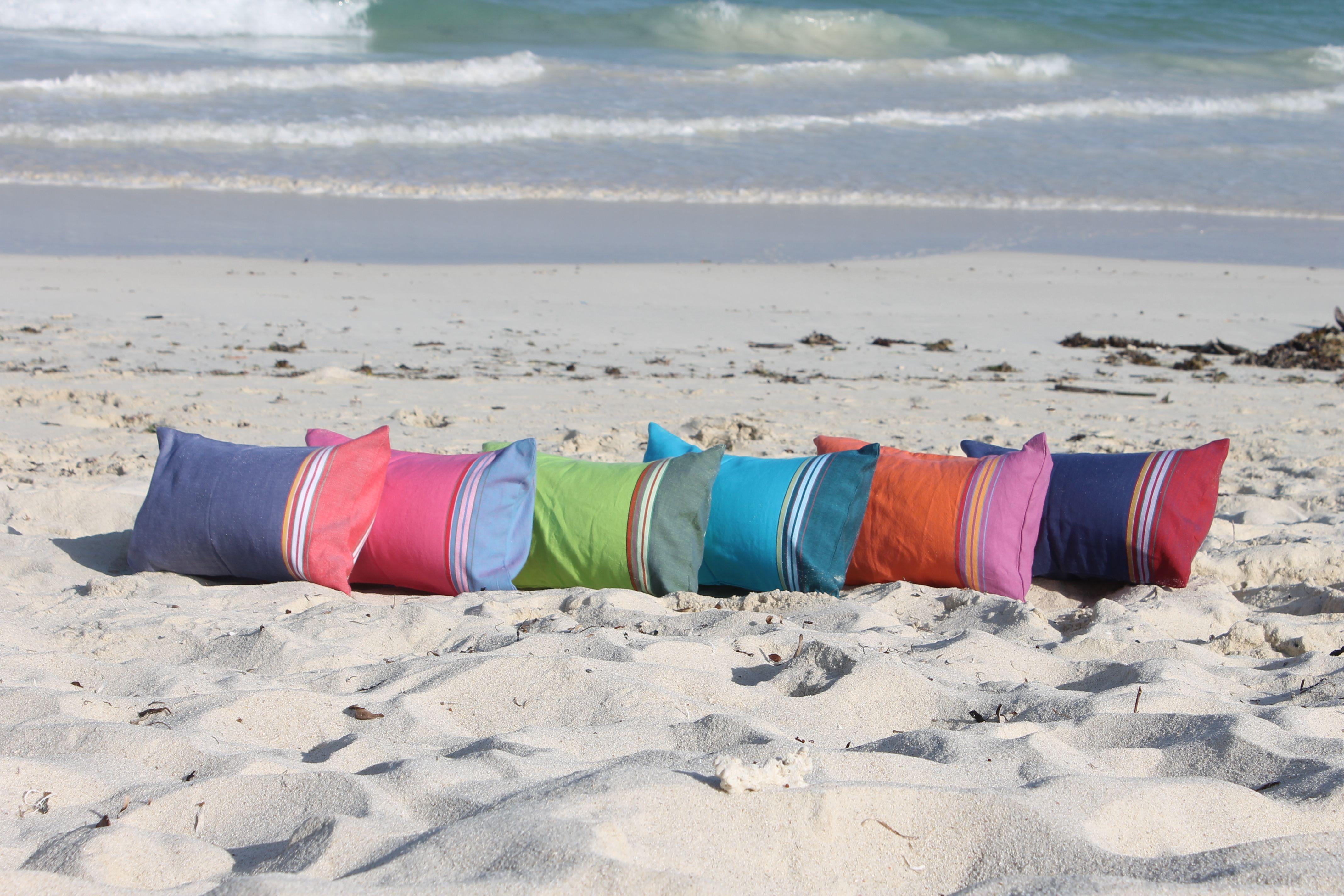 le coussin de plage simone et georges disponible en plusieurs
