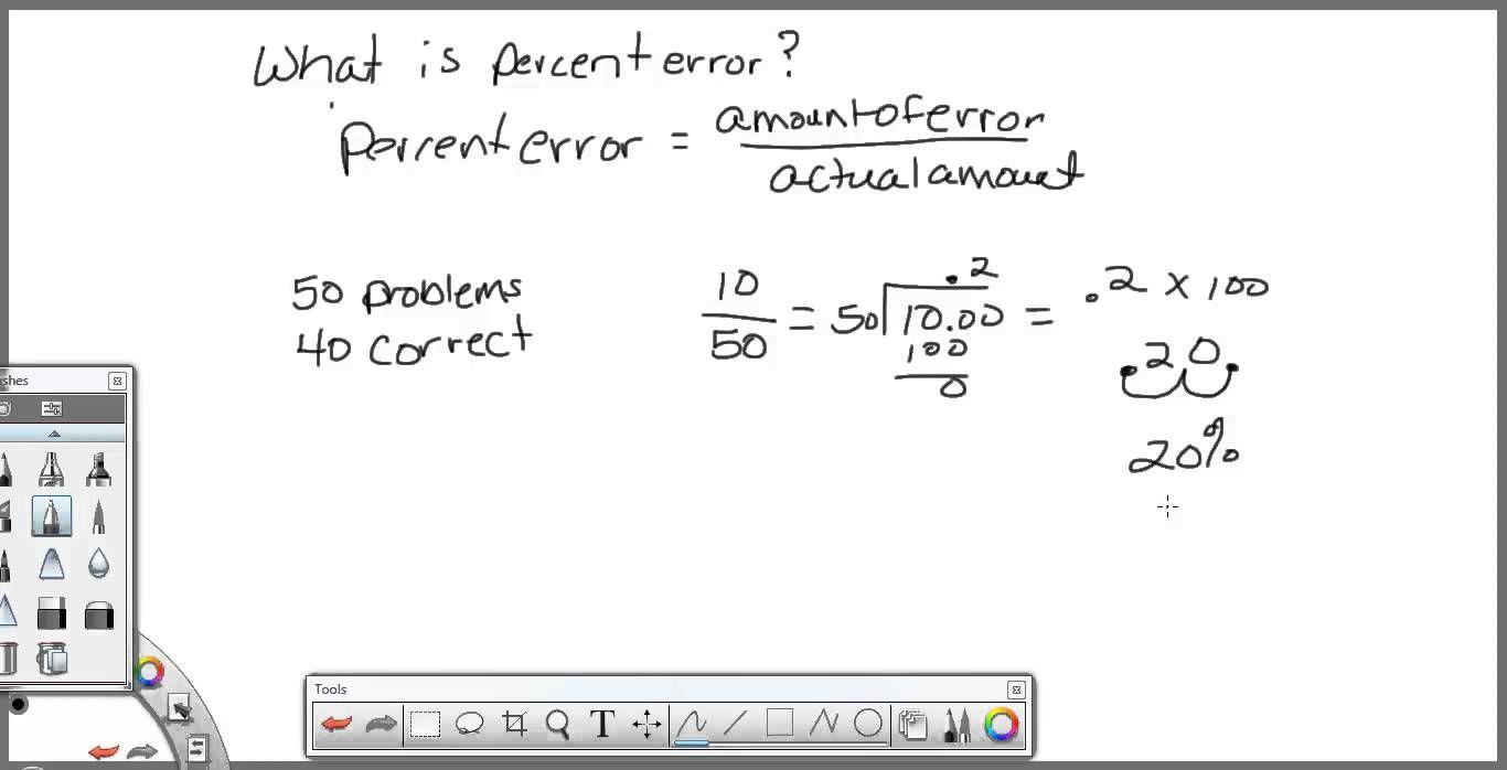 Percent Error - sims   Word problem worksheets [ 698 x 1366 Pixel ]
