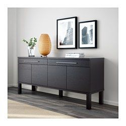 IKEA - BJURSTA, Sideboard, brown-black - For the dining room, far ...