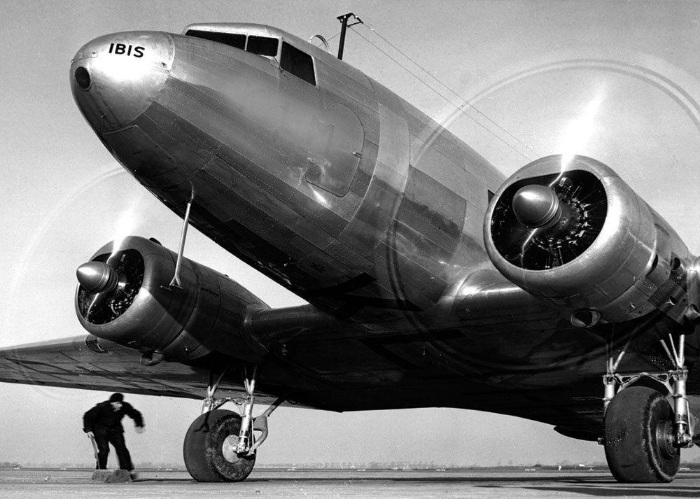 Artwood Old Plane GN6155, 150x100
