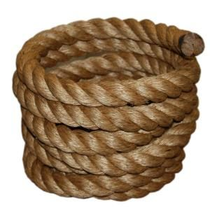 1-1/2 in  x 50 ft  Manila Rope | Fitness | Manila rope, At home gym