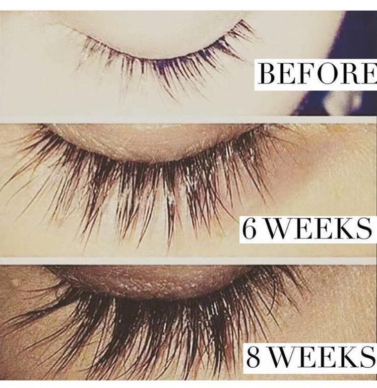 Check out what Hair Skin and Nails can do for your lashes