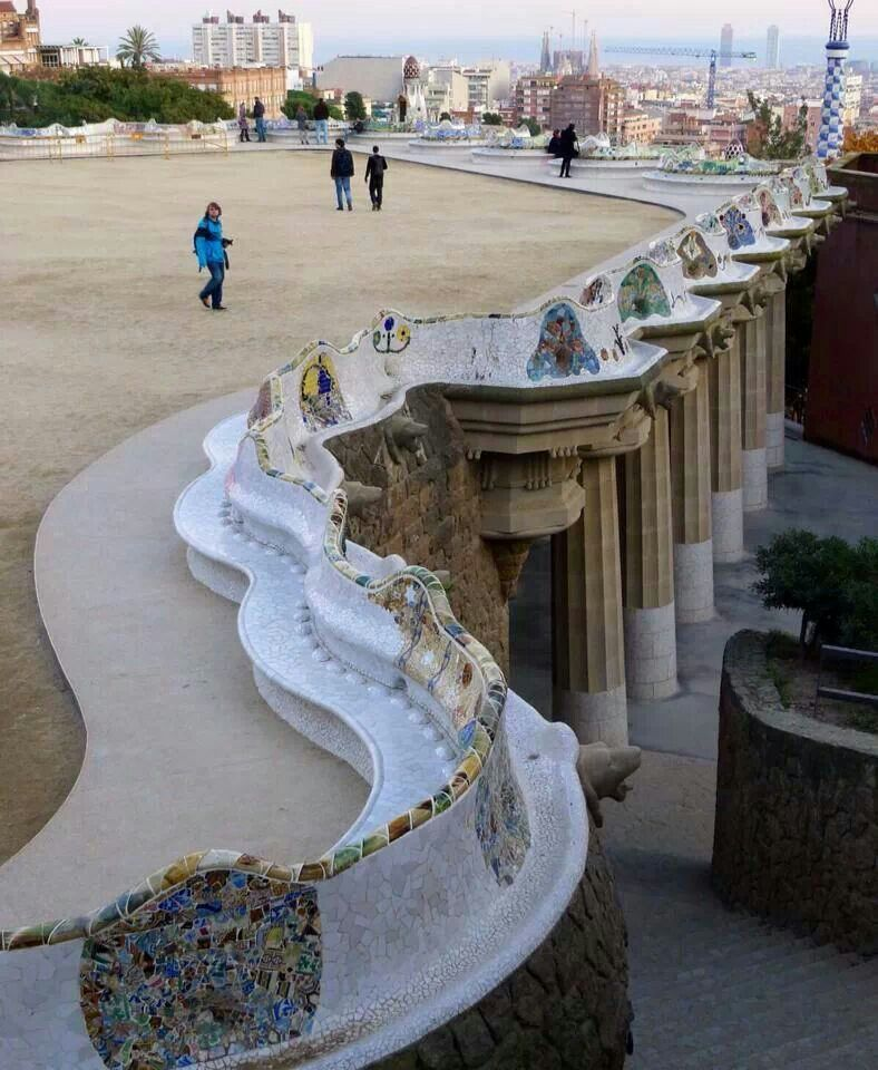 Park Guell Park Guell Landscape And Urbanism Parc Guell