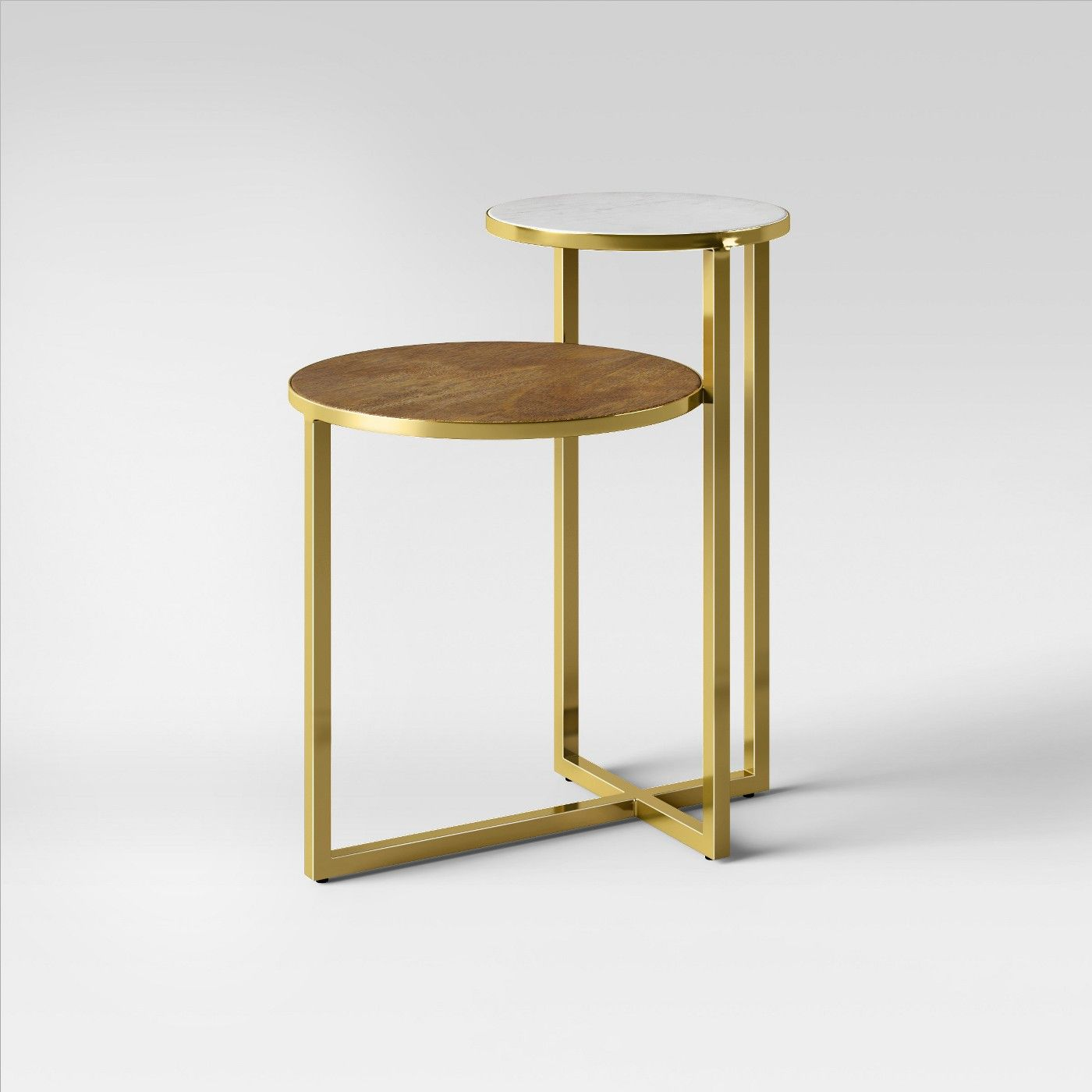 Mixed Material Marble Metal Accent Table Gold Project 62 Image 2 Of 3 Metal Accent Table Wood Accent Table Metal End Tables