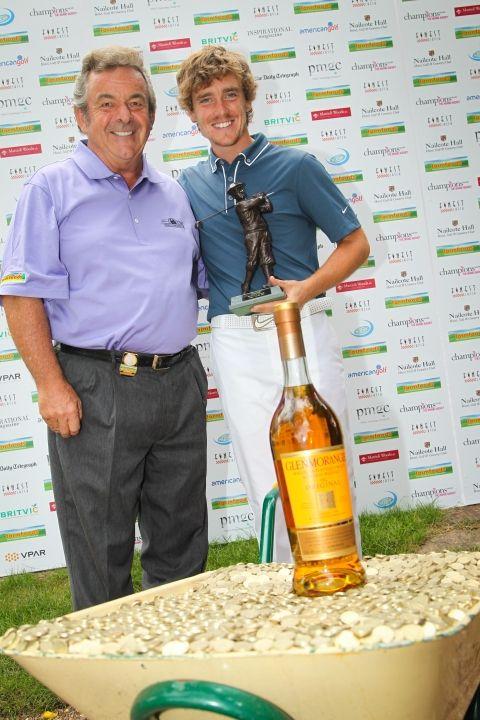 Tony With Tommy Fleetwood | Tony Jacklin CBE