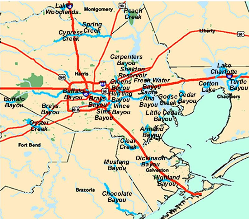 Paddle Trails Guide Paddling Houston's Bayous And Creeks Texas