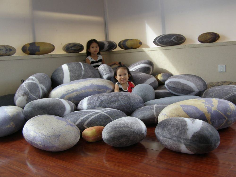 Details About A Set 6pcs Pebble Stone Pillow Pillowcases