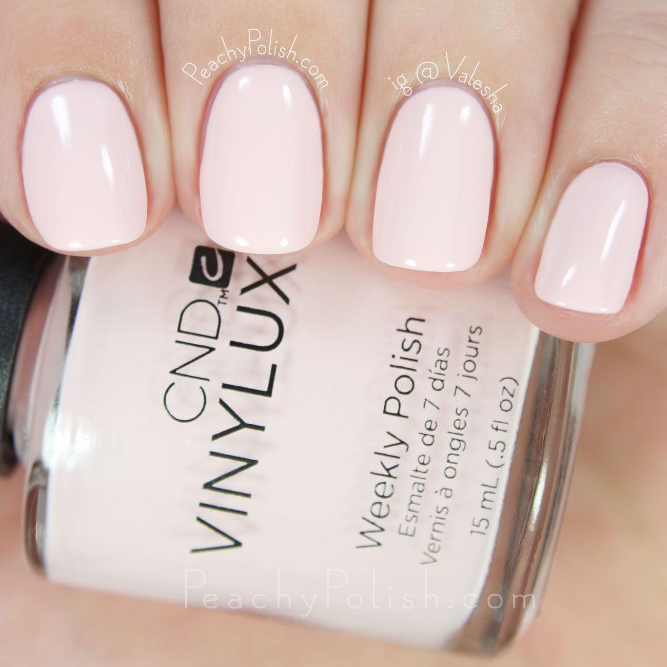 Cnd Vinylux Winter Glow Winter 2015 Aurora Collection Peachy Polish Nails Cnd Vinylux