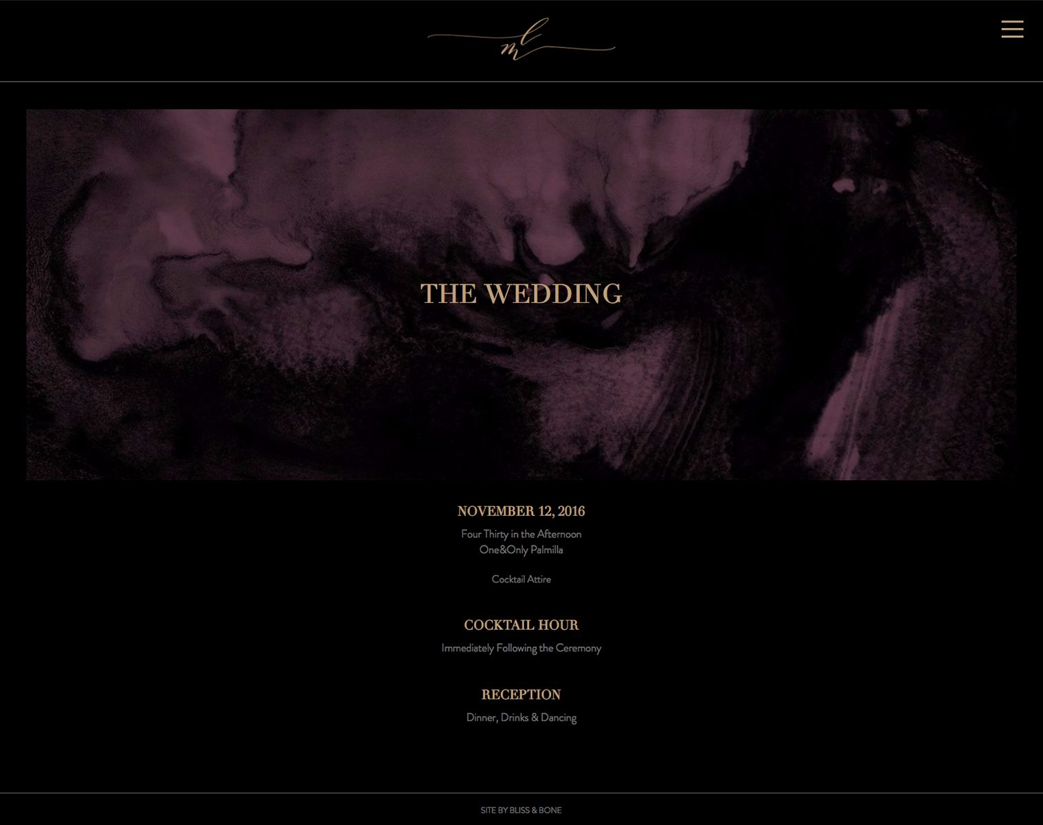 How To Set Up A Pretty Modern Wedding Website By The Skinny Confidential