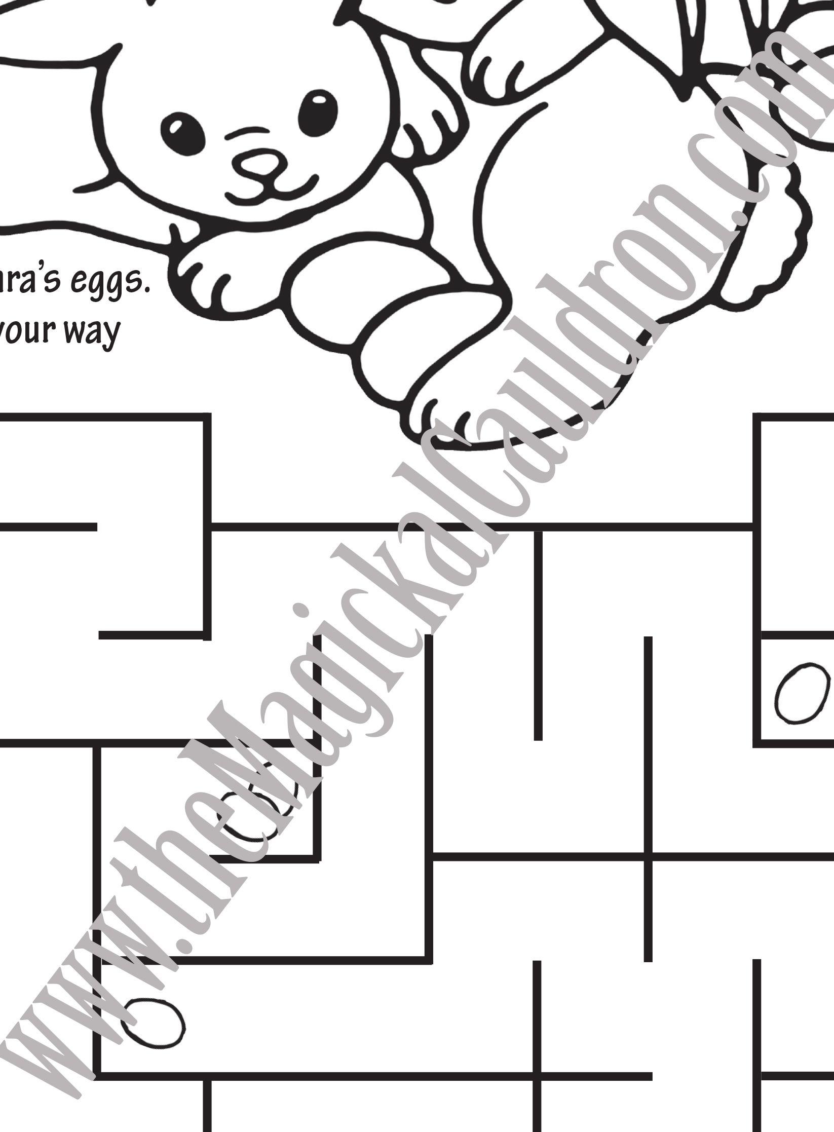 Worksheets For Kids Ostara Spring Equinox Maze Coloring Sheet Worksheets For Kids Spring Fun Spring Equinox