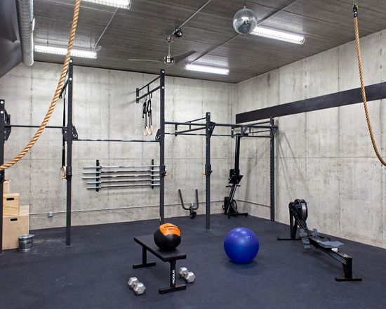 Enchanting home gym ideas basement and