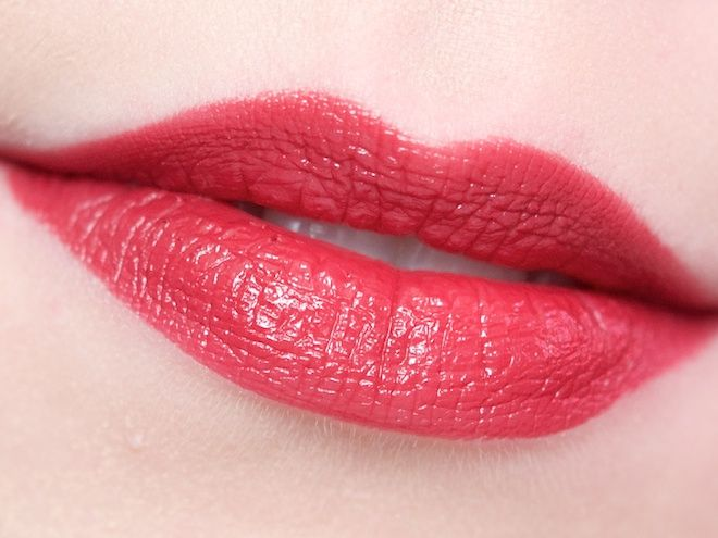 Wearing the Maybelline Color Whisper Lipstick in Berry Ready ...