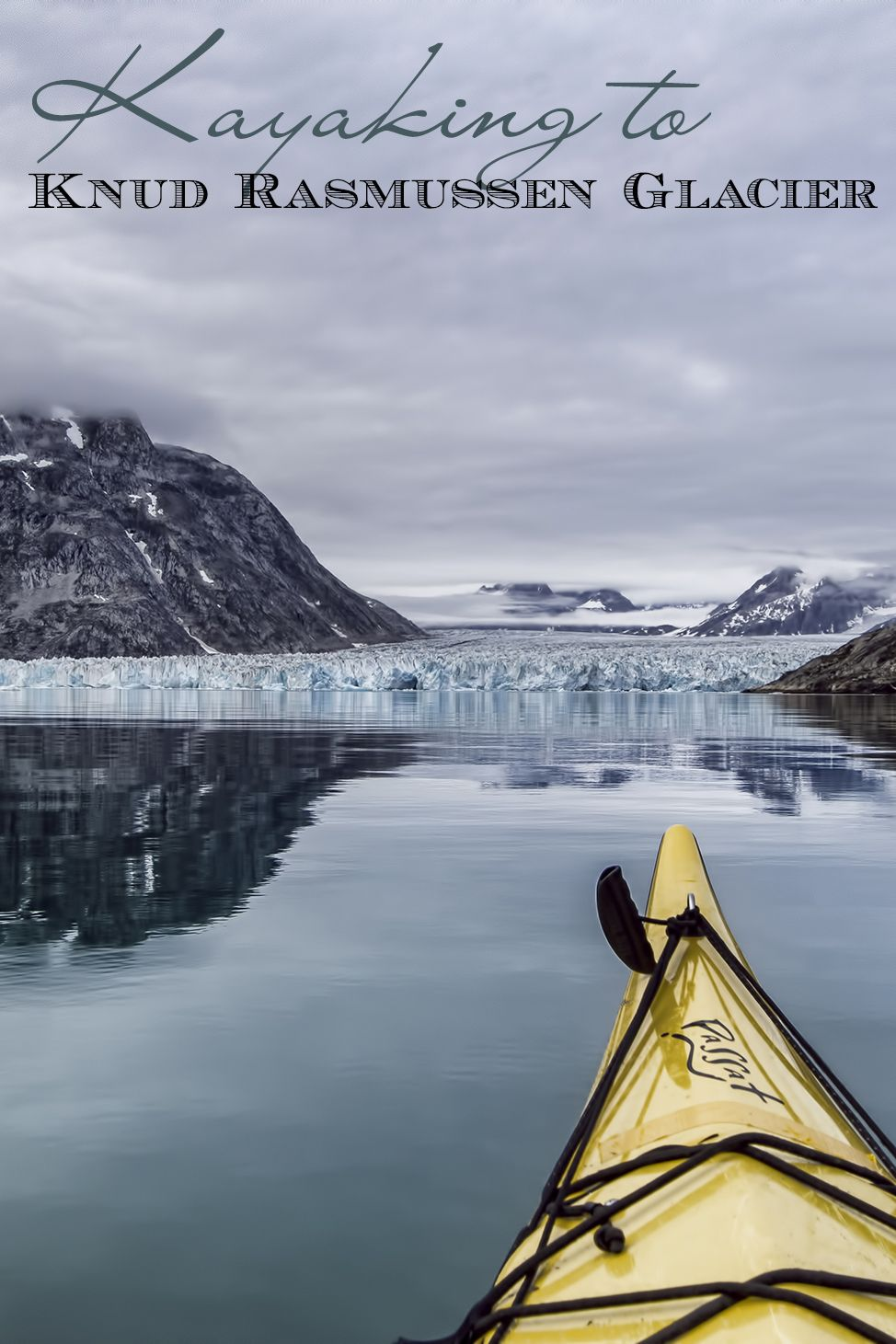 Our End At The Knud Rasmussen Glacier Greenland
