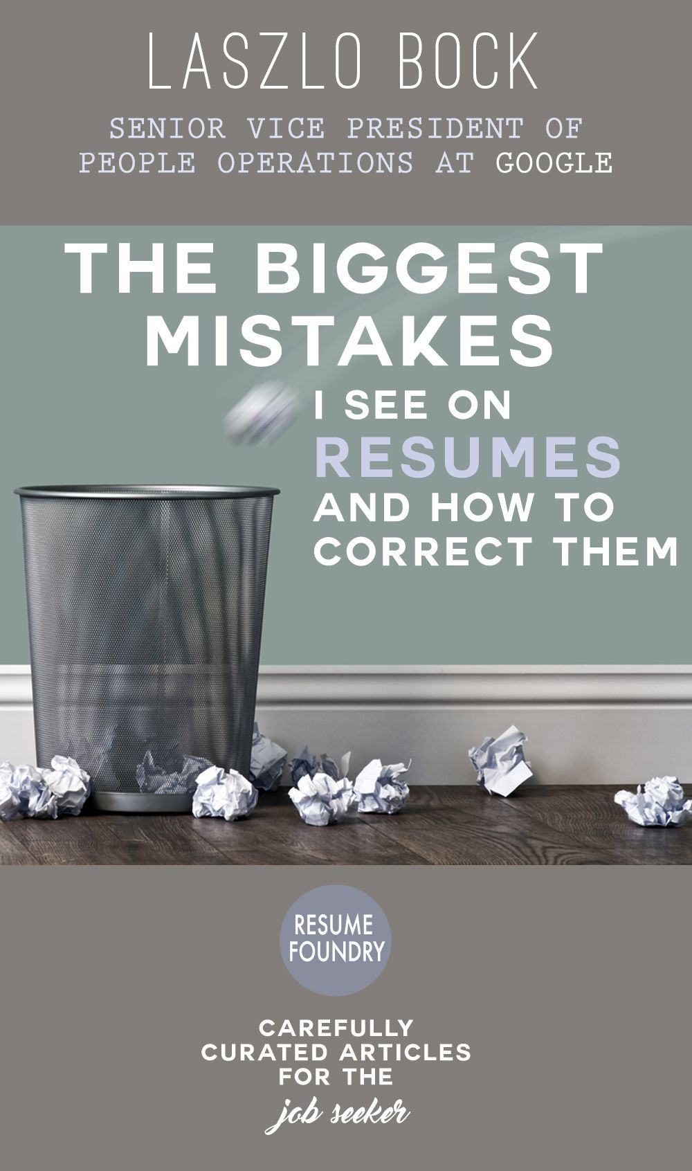 The Biggest Mistakes I See On Resumes, And How To Correct Them Sep 17,  See Resumes
