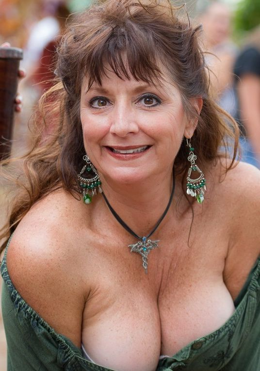 Big boobed older women