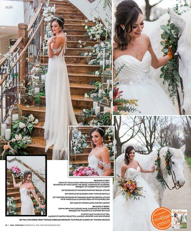 As Seen In The Summer/Fall 2018 Issue Of Real Weddings