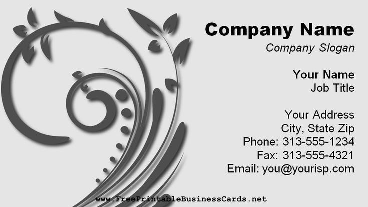 Free Business Card Templates You Can Create Today  Free