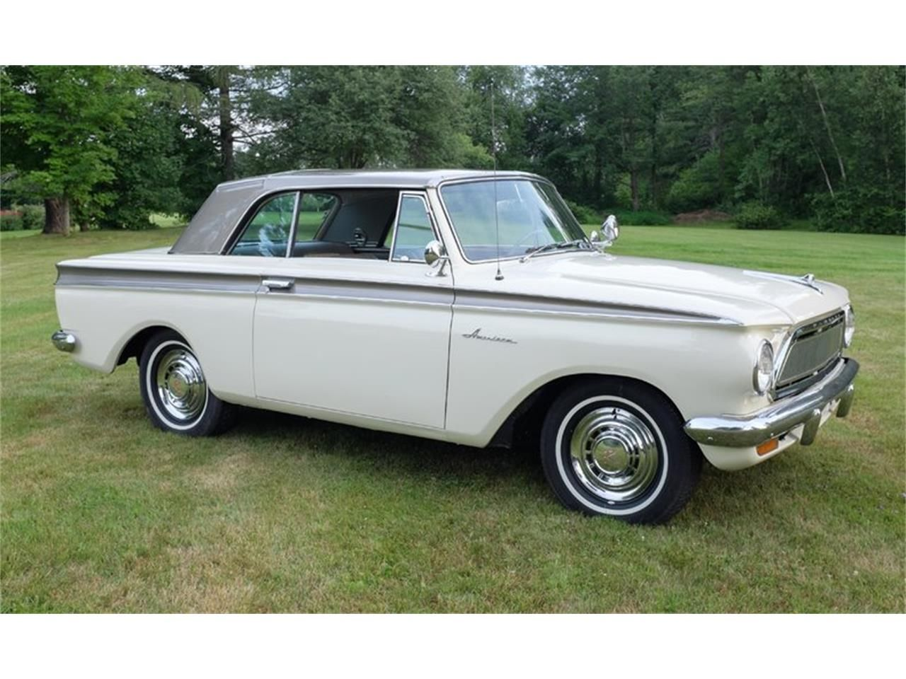 Cream 1963 Rambler American For Sale Located In Essex Junction
