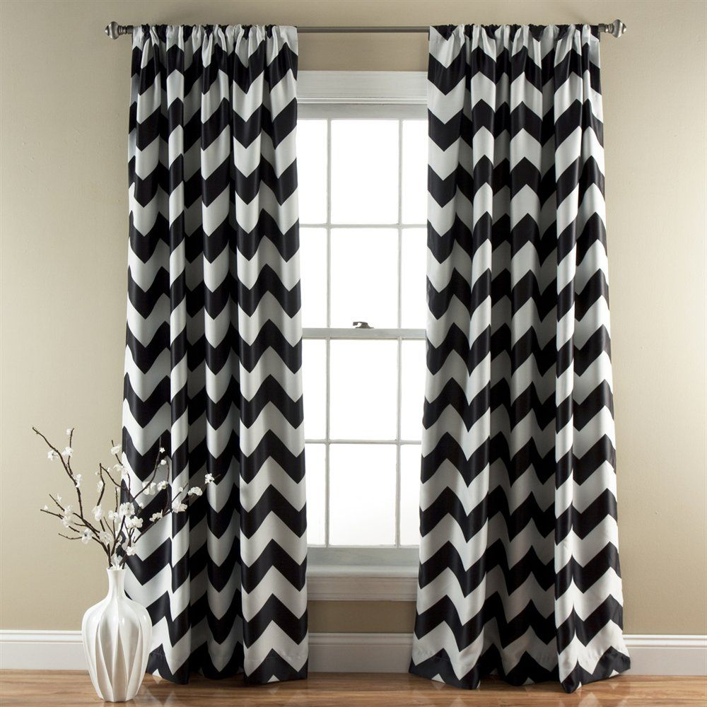 Shop Lush Decor C21 Chevron Blackout Window Curtain (Set of 2) at The Mine. Browse our curtains & drapes, all with free shipping and best price guaranteed.