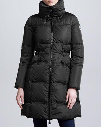 9b0438e3c7ad Moncler Long Puffer Coat