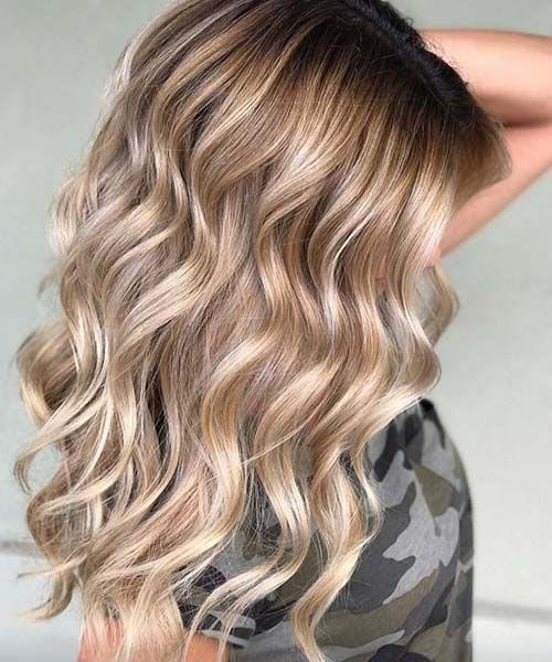 Cool Hair Colors 2019: 20 Radiant Blonde Ombre Hair Color Ideas For 2019