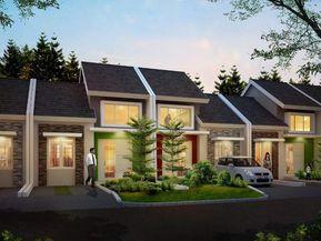 paling baru di serpong, townhouse 2 lantai dijual rp600