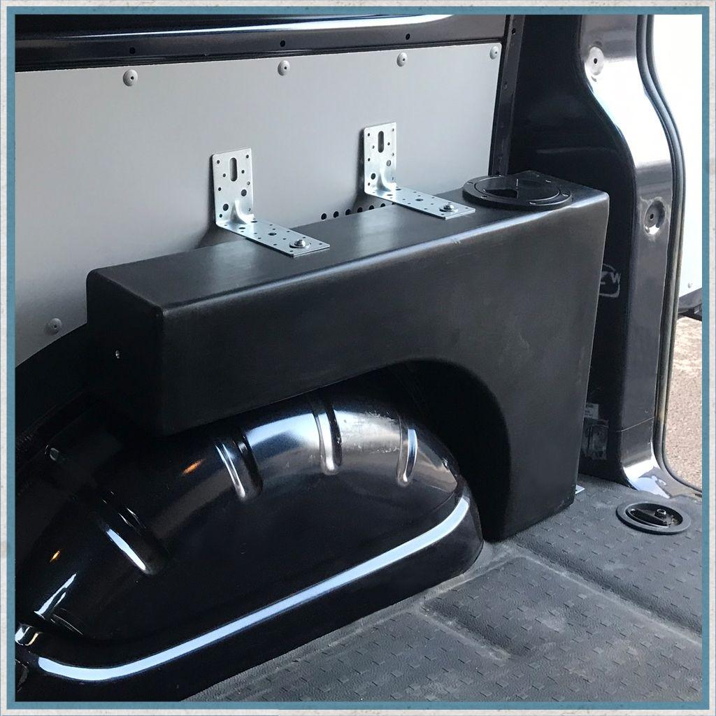 Campervan 24 Litre Wheel Arch Water Tank Transit camper