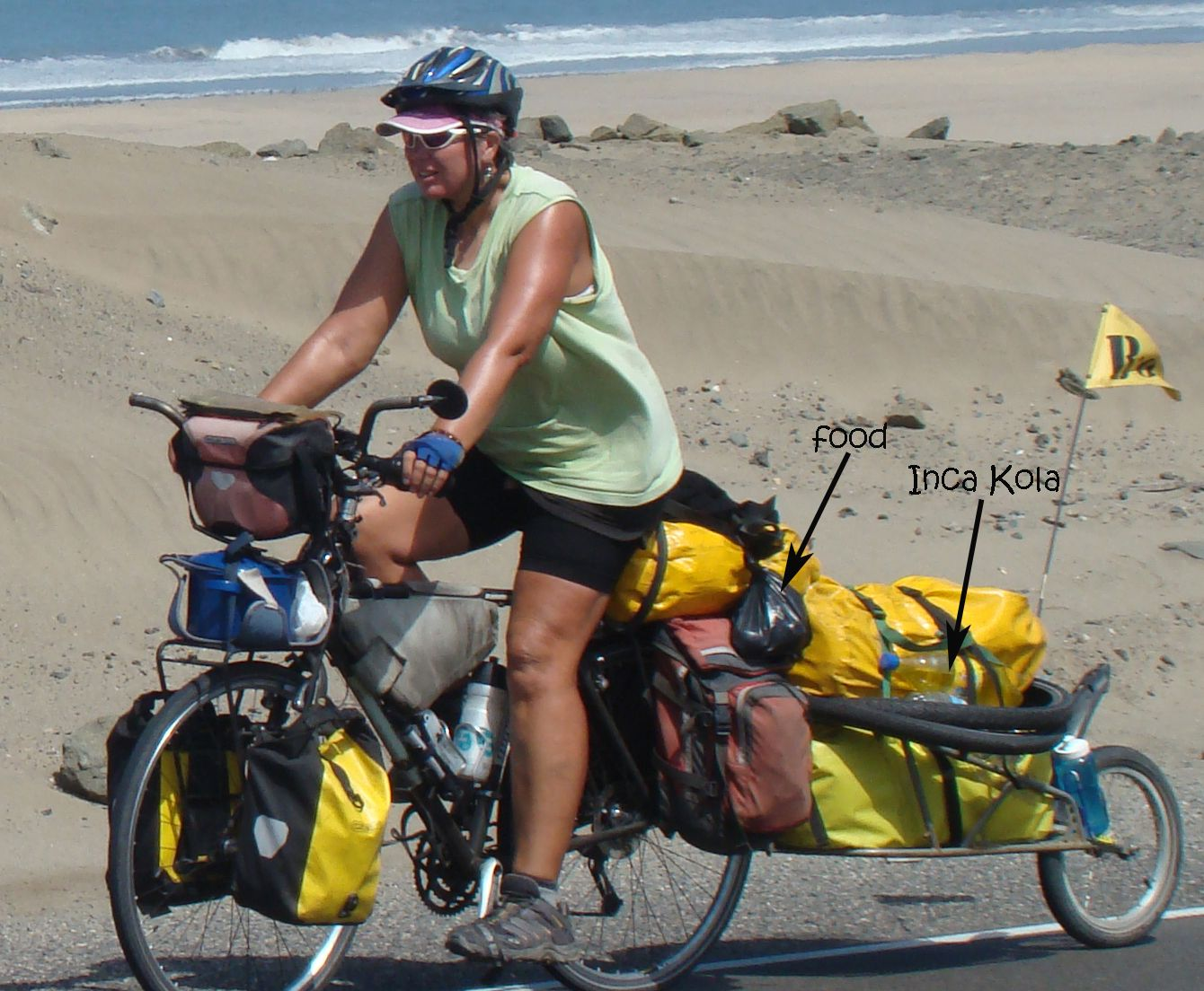 Food And Water For Bicycle Touringfamily On Bikes I Love
