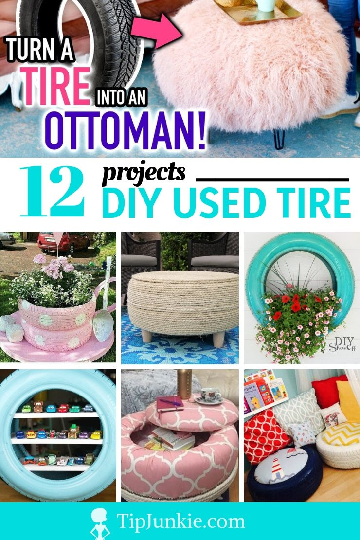 Would You Diy Used Tires Hot Or Not Repurposed Tires Diy Projects Diy Projects Yard Diy Yard Decor