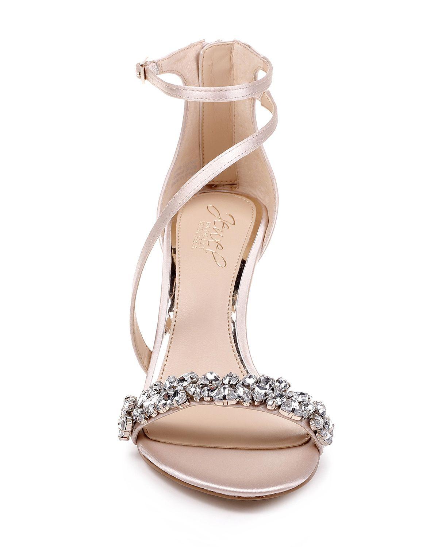 Danna Strappy Embellished Evening Shoe