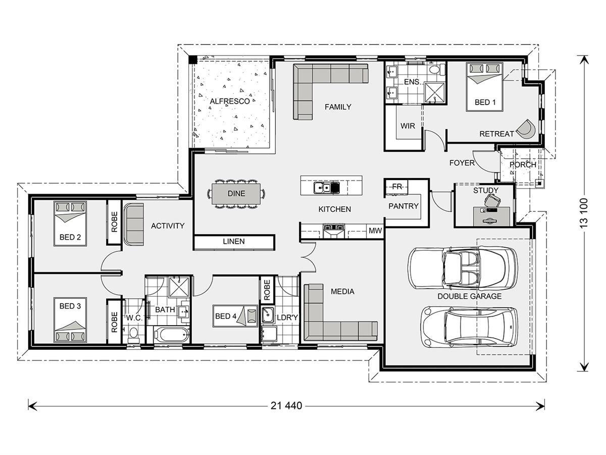 Coolum 268 - Element, Our Designs, Brisbane North Builder, GJ ...