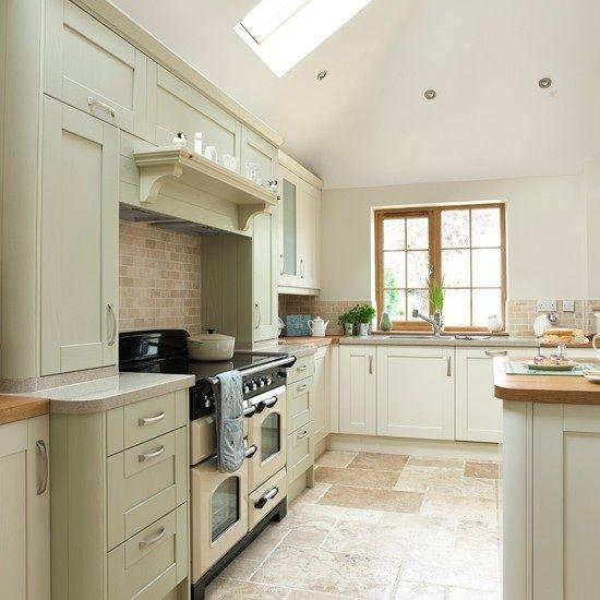 Sage Green And Cream Kitchen Green Kitchen Cabinets Sage Green