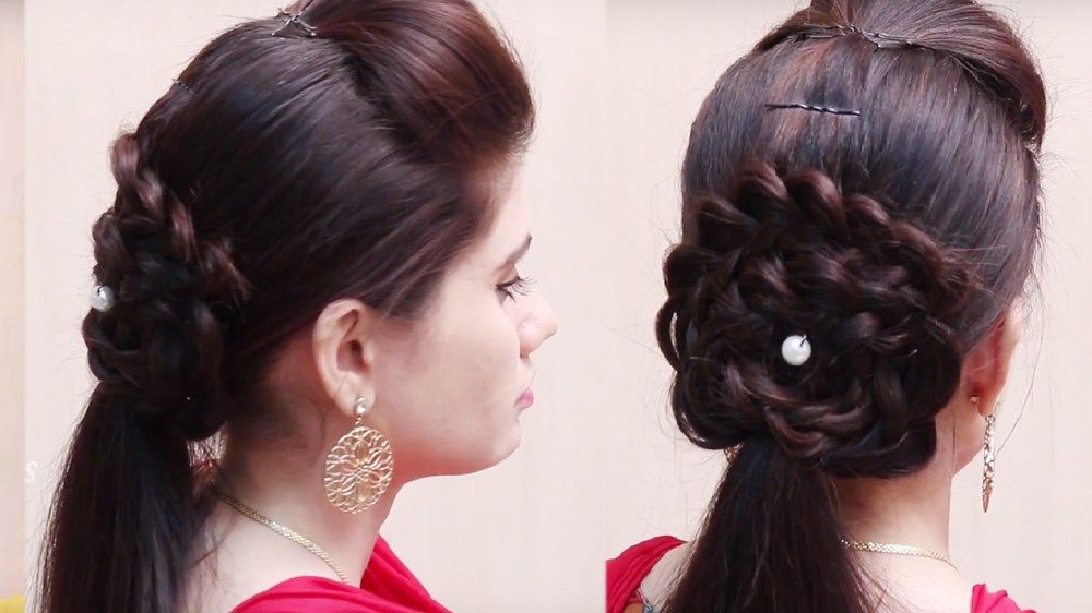 Special Hair Style For Girls Ladies Hairstyle Videos By She