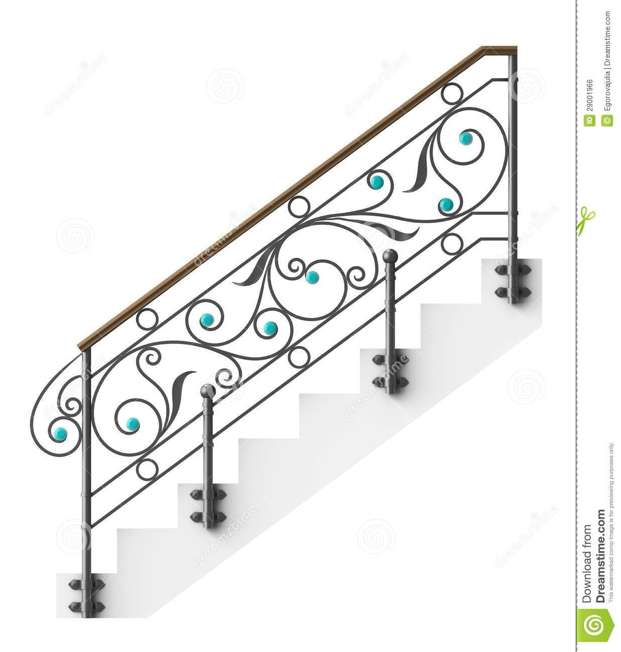 Wrought Iron Stairs Railing Download From Over 41 Million High