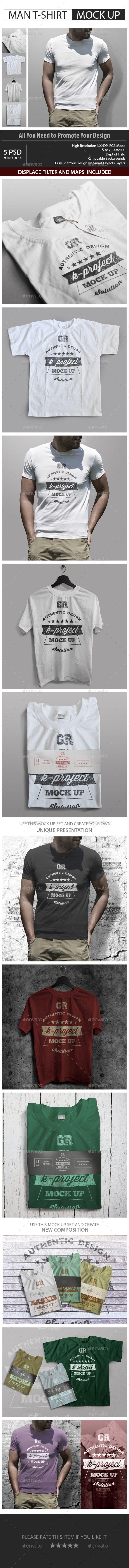 Download Man T Shirt Mock Up V2 Tshirt Mockup Clothing Mockup Shirt Print Design