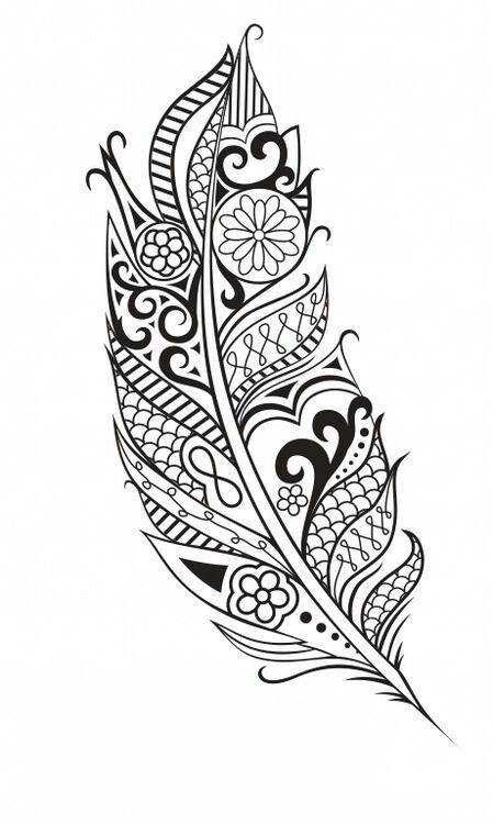 Maori Feather Tattoo: Maori Feather …