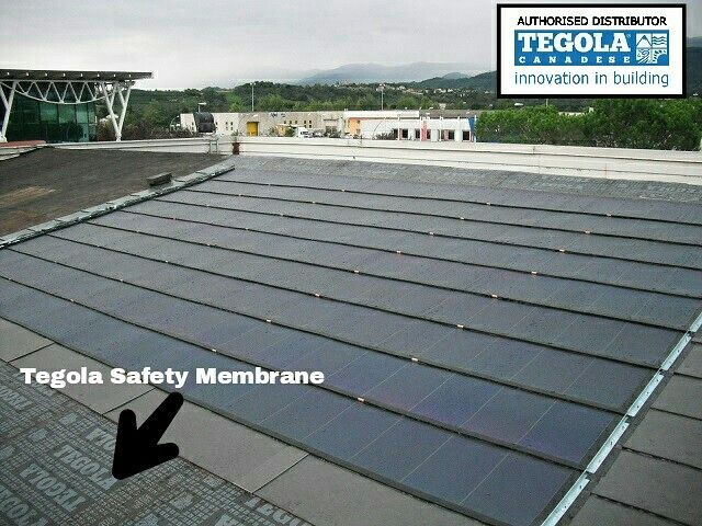 Tegola Safety Membrane Waterproofing Benefits Strong Reinforcement Mineral Finish With Ceramic Coated Roof Architecture Patio Roof Pergola Plans Design
