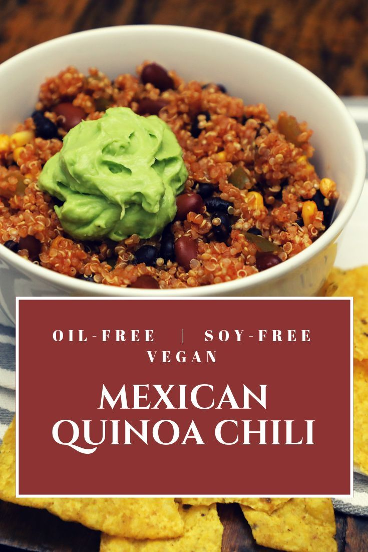 Mexican Quinoa Chili
