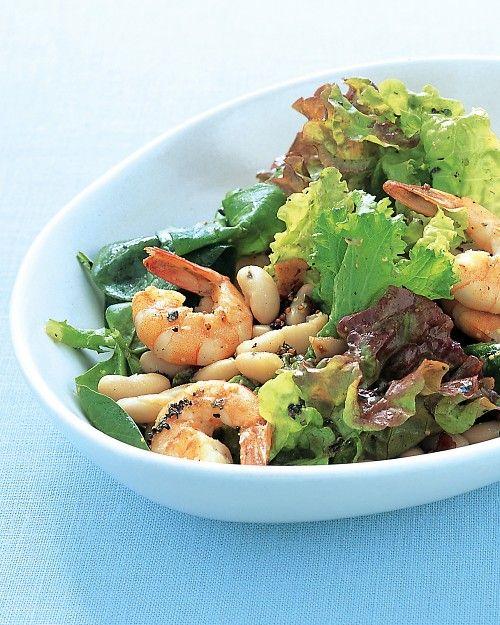 Shrimp and White-Bean Salad