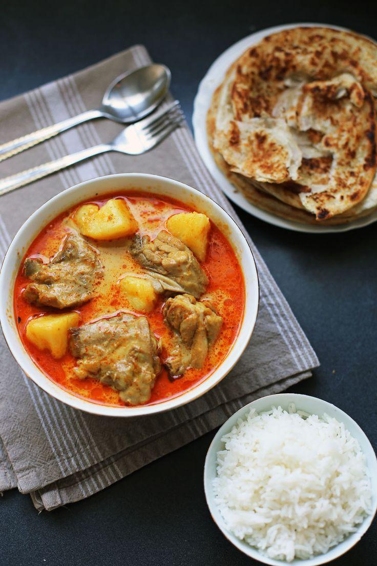 Malaysian style chicken curry kari ayam recipe chicken curry malaysian style chicken curry kari ayam forumfinder Choice Image