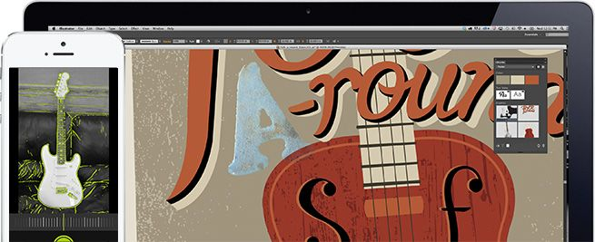 Adobe ideas, para dibujar por capas