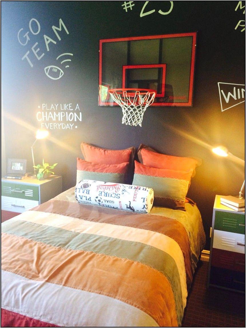 Deco Chambre Garcon Ado Basket Ball en 8 (avec images)  Déco