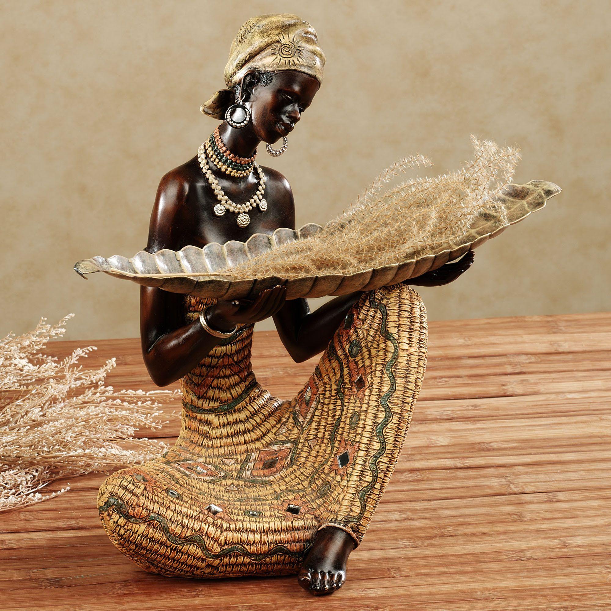Harvest Gatherings Table Sculpture Pinturas Africanas Arte De Africa Y Afroamericano Arte De Africa
