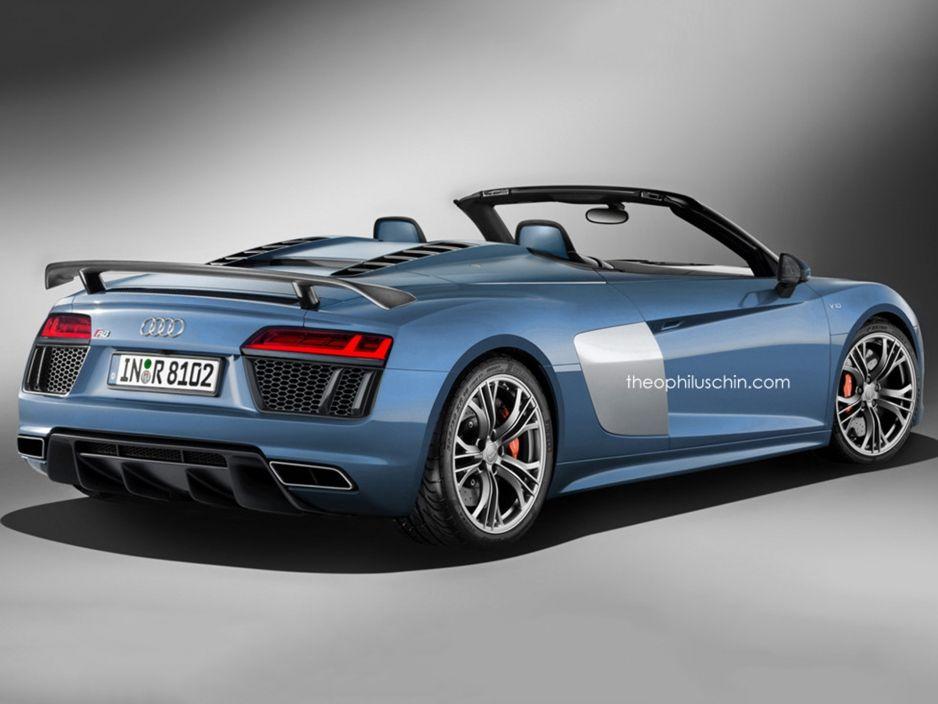 Audi R8 Spyder 2016 Roadster Kommt Mit V10