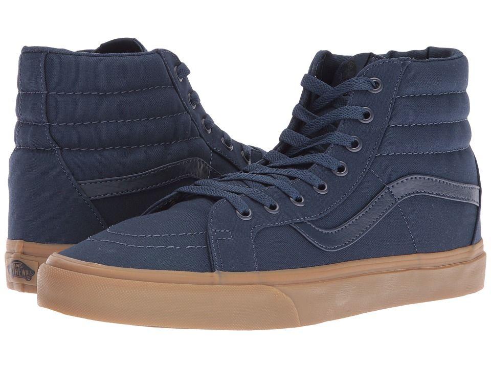9db15ac250 VANS VANS - SK8-HI REISSUE ((CANVAS GUM) DRESS BLUES LIGHT GUM) SKATE  SHOES.  vans  shoes