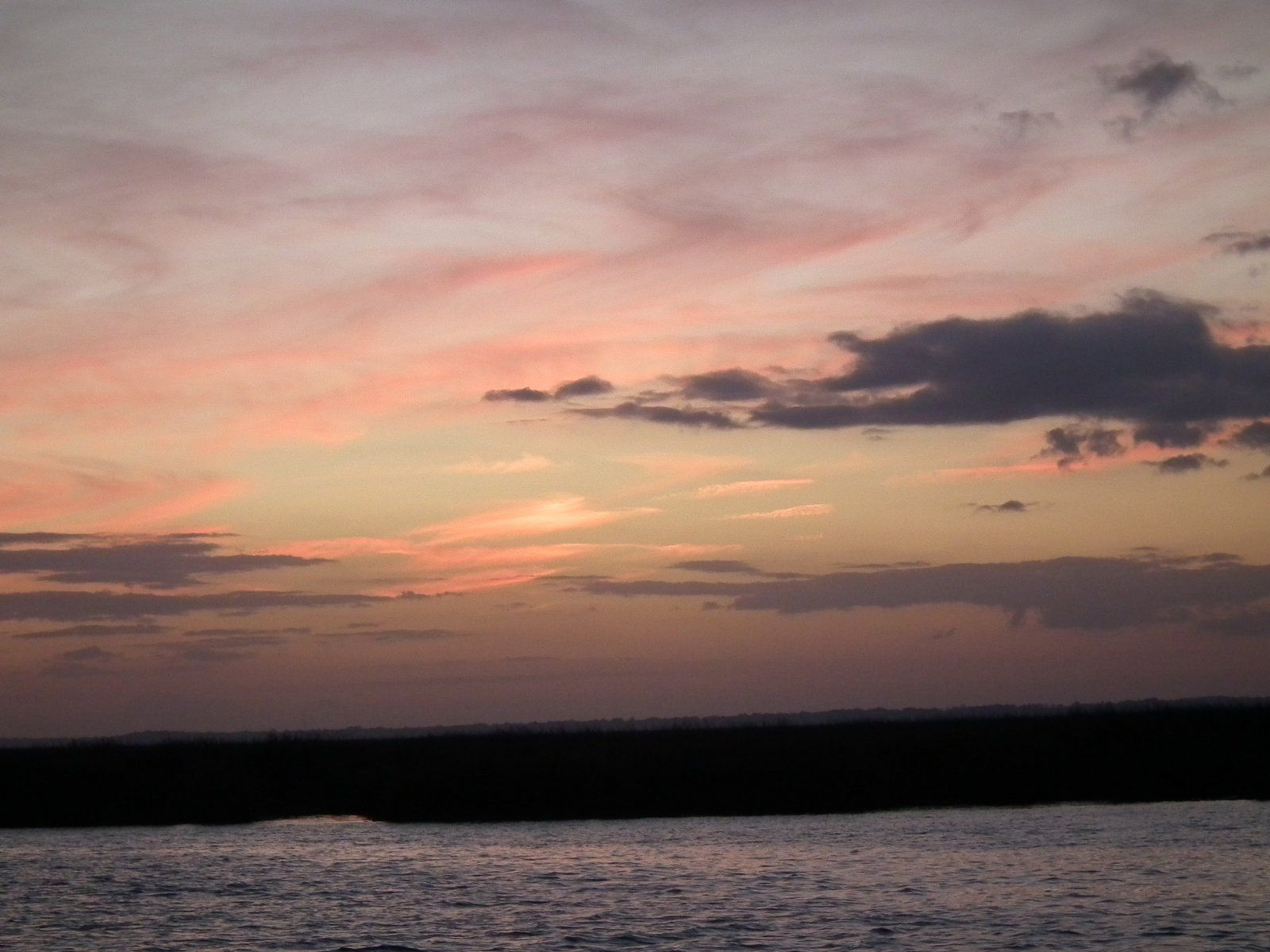 New Adventures - Traveling south - 2000+ miles - Dulpin River Georgia Sun set