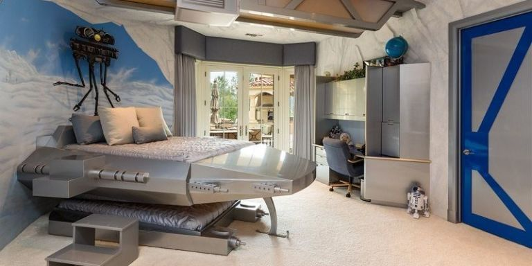 This $15 Million California Mansion Has a Star Wars Bedroom