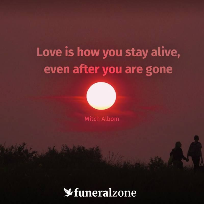 Loving memories keep those we miss alive in our hearts - Grief and loss quot