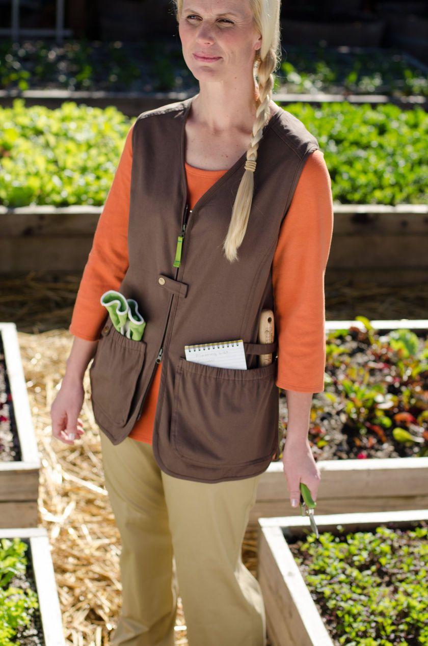 859612076b84de704b5ee379a7536979 - Women's Lightweight Utility Gardening Vest